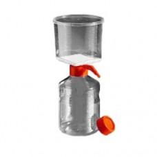 Corning #431098 1000mL Vacuum Filter/Storage Bottle System, 0.22µm Pore 62cm² PES Membrane, 12 systems/case